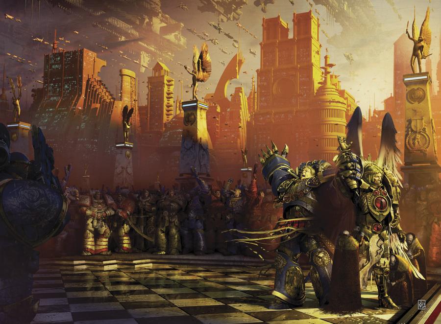 Rumors Horus Heresy: Deathshroud e Unremembered Empire ~ L ...