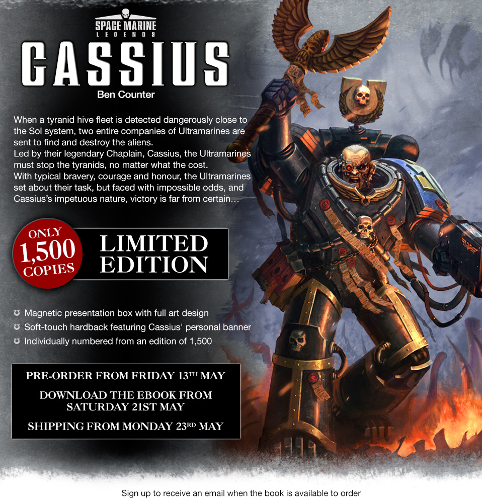 Programme des publications The Black Library 2016 - UK - Page 6 04-05-SML-cassius-page