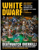 White Dwarf Issue 109: 27th February 2016