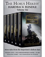 The Horus Heresy Hardback Bundle: Volume 6