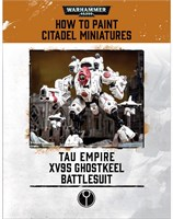 How to Paint Citadel Miniatures: XV95 Ghostkeel Battlesuit
