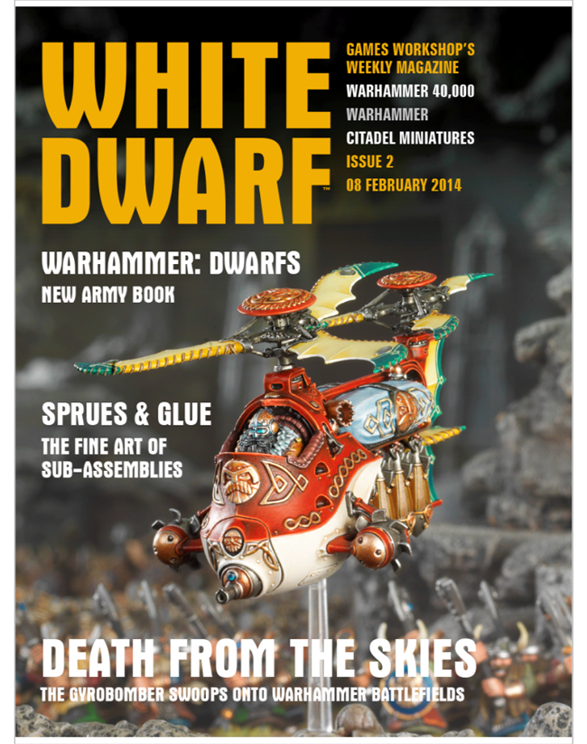 white dwarf magazine 2017 issues - photo #22