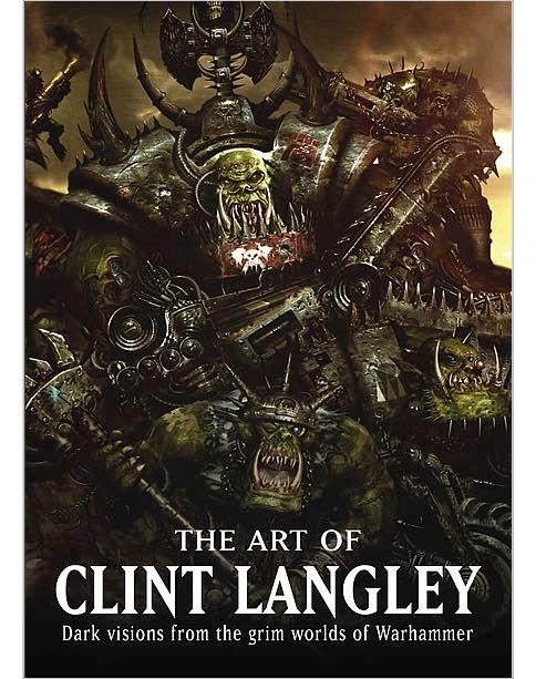 Les Artbooks sortis chez BLack Library Art-Clint-Langley