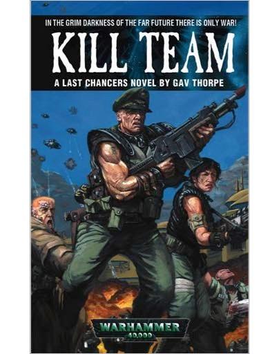 Traduction des Extraits disponible sur le site de Black Library. Kill-Team