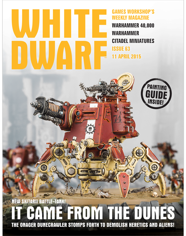 Games Workshop Magazine - White Dwarf Issue 50: full ...