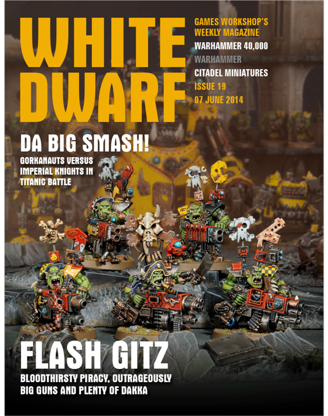 White Dwarf Painting Guides
