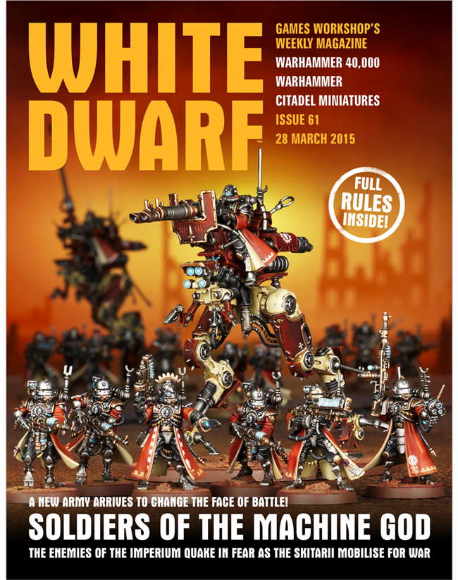 Download Games Workshop Magazine - White Dwarf Issue 61 ...