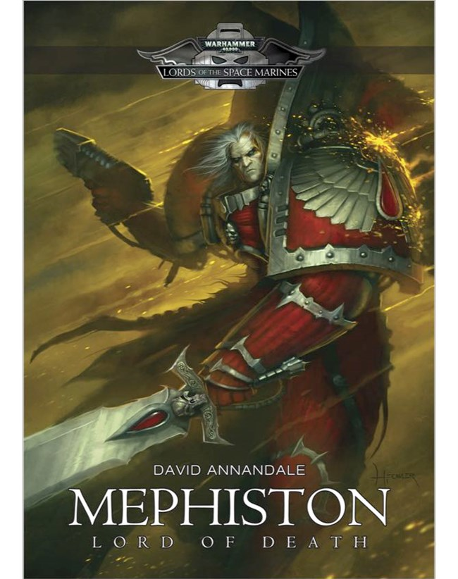 Mephiston, Lord of Death by David Annandale Mephiston