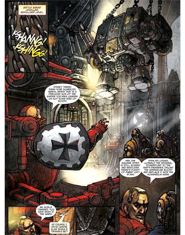 Warhammer 40k Comics Pdf