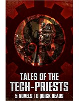 Eleven Tech Priests a Tinkering