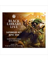 Black library Live Ticket