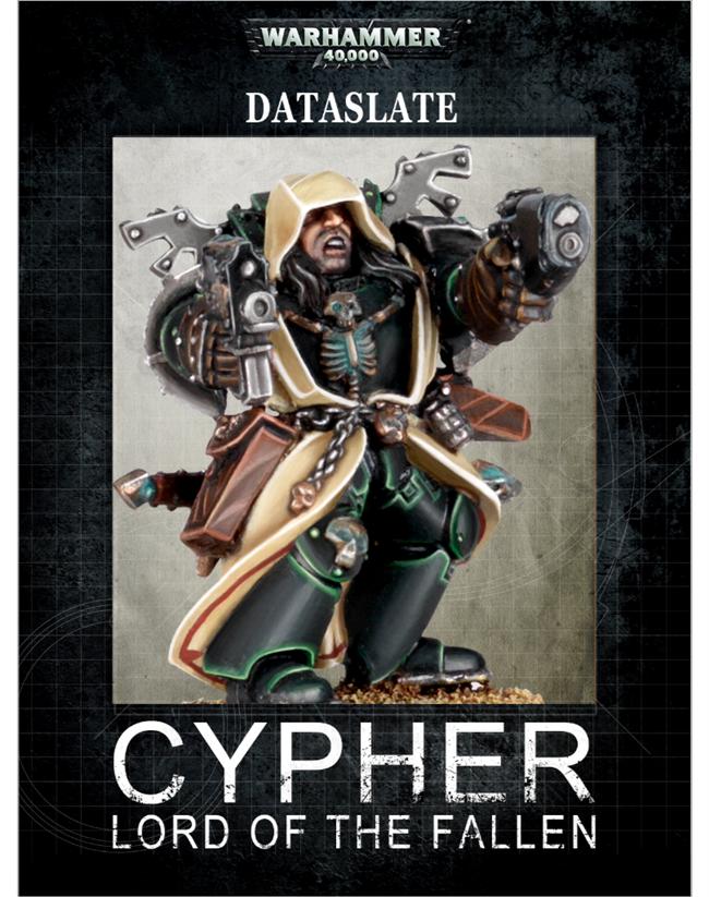 Warhammer 40k dataslate