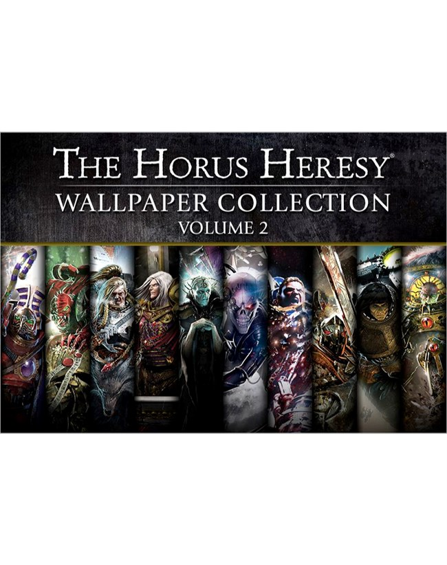 Black Library The Horus Heresy Wallpaper Collection Volume 2