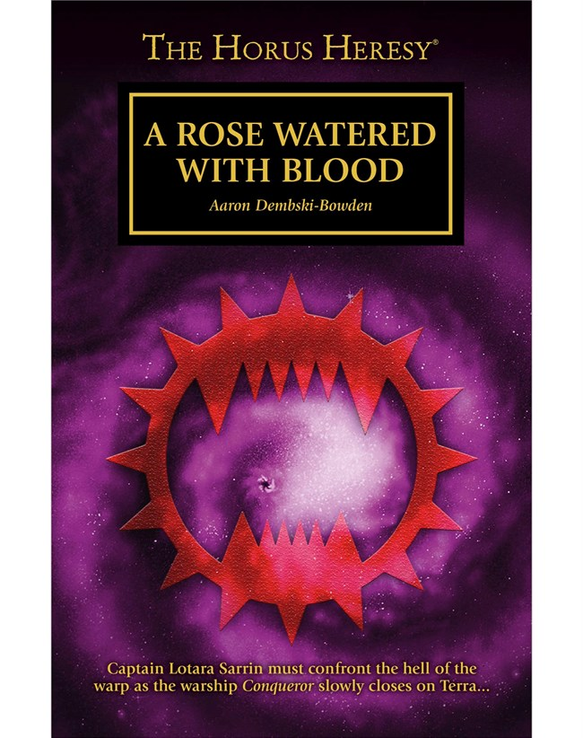 Black Library A Rose Watered With Blood