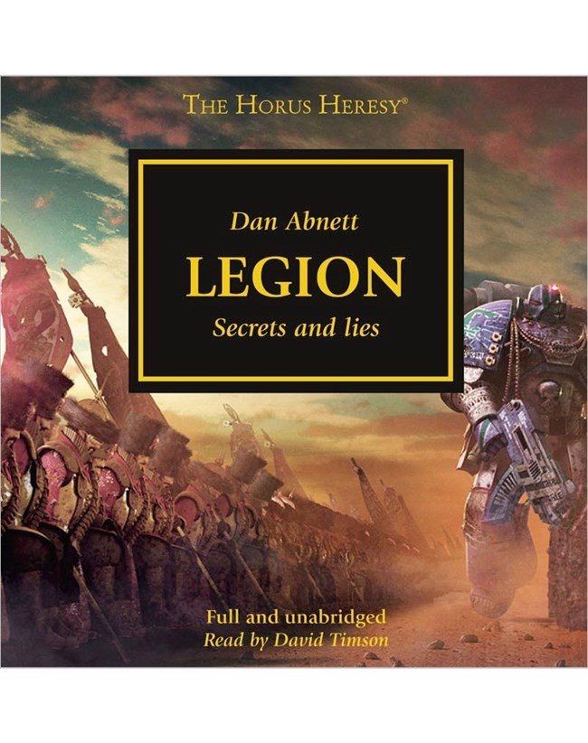 book audio heresy horus legion